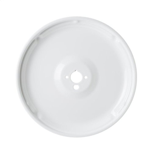 Gas range white porcelain small burner bowl