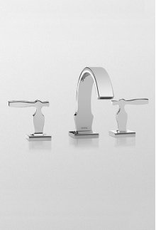 Polished Chrome Aimes® Widespread Lavatory Faucet