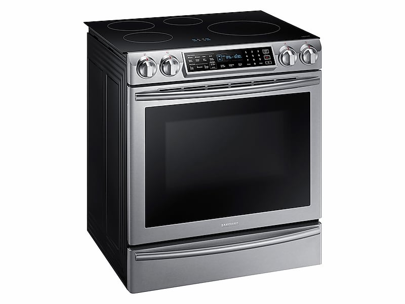 Charmant NE58K9560WS In Stainless Steel By Samsung In Concord, NH   5.8 Cu. Ft. Slide In  Induction Range With Virtual Flame Technology In Stainless Steel