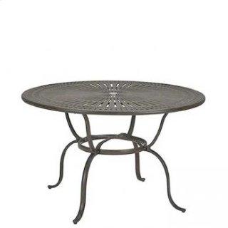 "Spectrum 55"" Round KD Counter Umbrella Table"