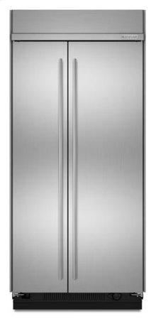 """42"""" Euro-Style Built-In Side-by-Side Non-Dispenser Refrigerator"""