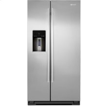 "72"" Counter-Depth Freestanding Refrigerator, Euro-Style Stainless Handle"