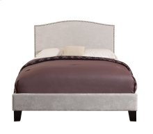 Emerald Home Colton Upholstered Bed Kit Queen Cream B126-10hbfbr-09