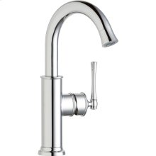 Elkay Explore Single Hole Bar Faucet with Forward Only Lever Handle Chrome