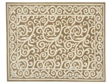 Border Scroll Rug