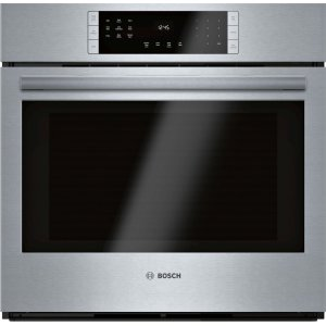 BOSCHSingle Wall Oven 30'' Stainless steel