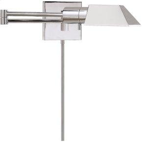 Visual Comfort 82034PN Studio 24 inch 40 watt Polished Nickel Swing-Arm Wall Light