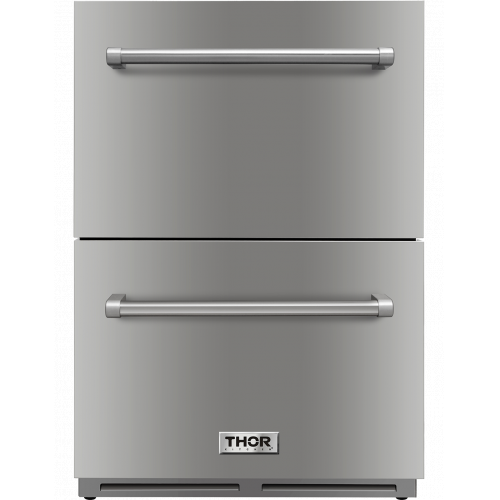Thor Kitchen24 Inch Indoor Outdoor Undercounter Refrigerator Drawer