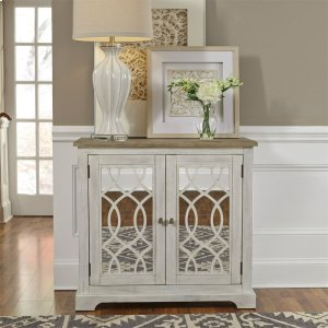 Liberty Furniture Industries  2 Door Mirrored Accent Cabinet