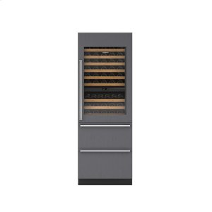 "Sub-Zero30"" Designer Wine Storage with Refrigerator Drawers - Panel Ready"