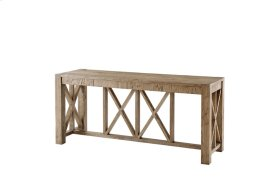 Orlando Bar Console, Echo Oak