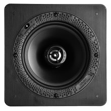 """Disappearing Series Square 6.5"""" In-Wall / In-Ceiling Loudspeaker"""