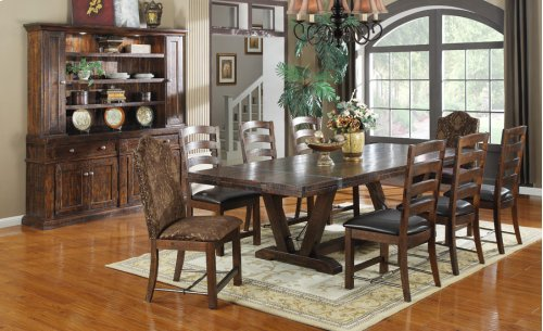 Emerald Home Castlegate Dining Table Pine Brown D942dc-11top