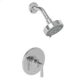 French-Gold-PVD Balanced Pressure Shower Trim Set