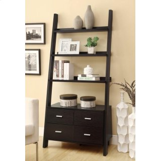 Ladder Bookcase w/ Storage