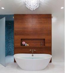 Elise  72-inch Award-Winning Freestanding Bath Tub  MTI Baths