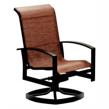 3379 High-Back Swivel Dining Chair