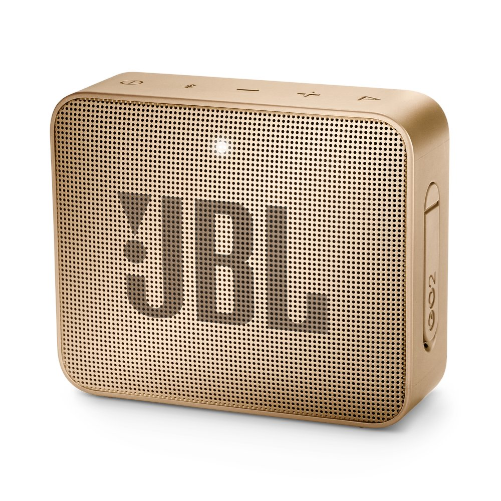 JBL GO 2 Portable Bluetooth speaker  PEARL CHAMPAGNE