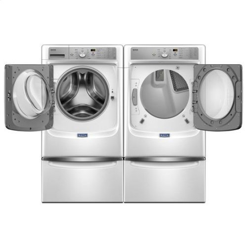 """Maytag® Large Capacity Gas Dryer with Refresh Cycle with Steam and PowerDry System """" 7.4 cu. ft. - White"""