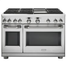 "Clearance Model - One of a Kind - Monogram 48"" Dual-Fuel Professional Range with 6 Burners and Griddle (Natural Gas)"