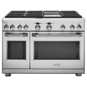 "MonogramMONOGRAMMonogram 48"" All Gas Professional Range with 6 Burners and Griddle (Liquid Propane)"