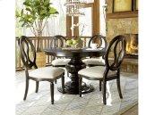 Round Dining Table - Midnight
