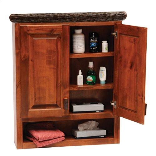 Toilet Topper Cabinet - Cognac
