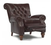 Equestrian Leather Power High-Leg Recliner