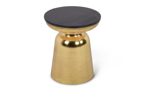 """Jovana Round End Table 17"""" x 17"""" x 20"""""""