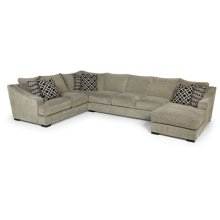3 PIECE SECTIONAL WITH USB CHARGING PORTS UPGRADE