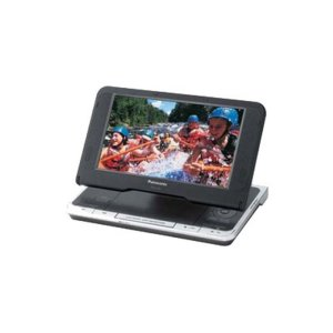 "Panasonic8.5"" Diagonal Widescreen Portable DVD Player with Carrying Case"