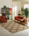 AMBROSE AMB01 ALMOND RECTANGLE RUG 27'' x 18''