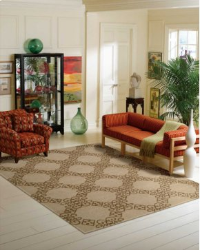Ambrose Amb01 Almond Rectangle Rug 9'9'' X 13'9''