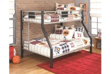 Twin/Full Bunk Bed w/Ladder