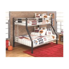 Twin/Full Bunk Bed with Ladder