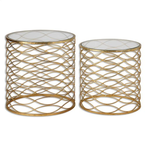 Zoa Accent Tables, S/2