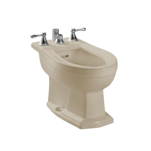 Clayton® Bidet, Vertical Spray - Bone
