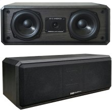"125-Watt 2-Way 3-Driver 5.25"" Center Channel Speaker"