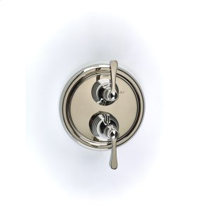 Polished Nickel Summit (Series 11) Dual Control Thermostatic with Volume Control Valve Trim