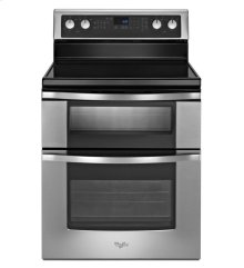 6.7 Total cu. ft. Double Oven Electric Range with AccuBake® system [OPEN BOX]