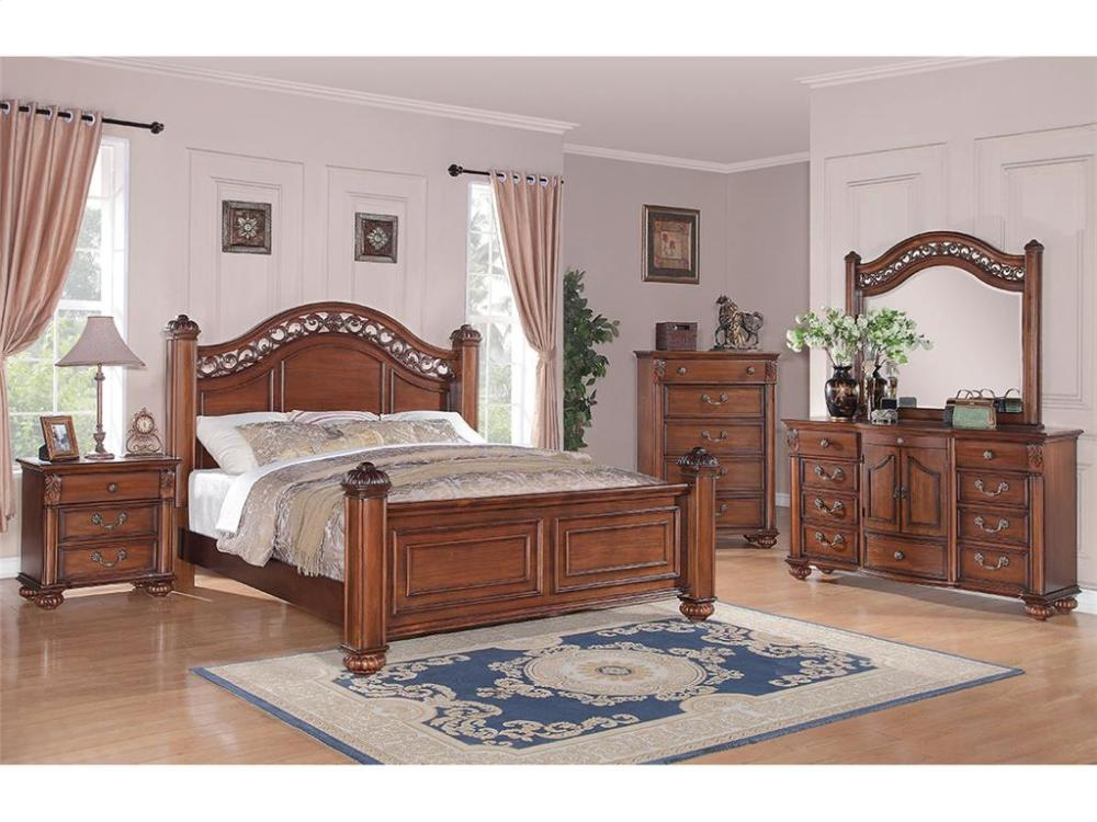 Elements Furniture BQ600 Barkley Square Bedroom Set Houston Texas USA Aztec  Furniture