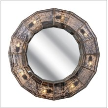 Garbo Wall Mirror With Lights