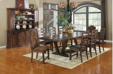 Emerald Home Castlegate Dining Table Pine Brown D942-10base