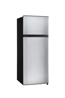 7.1 Cu. Ft. Top Mount Refrigerator, Stainless Steel