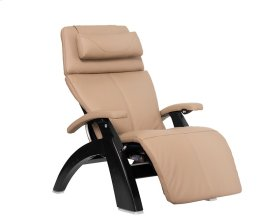 Perfect Chair PC-600 Omni-Motion Silhouette - Sand Top Grain Leather - Matte Black