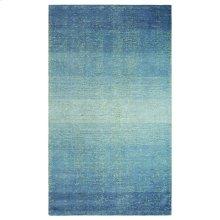 Sari Stripe Rug, BLUE, 1X1