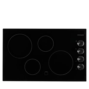 32'' Electric Cooktop - BLACK