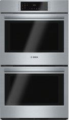 """800 Series 30"""" Double Wall Oven, HBL8651UC, Stainless Steel Product Image"""