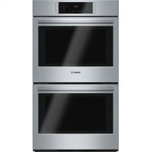 800 Series built-in double oven 30'' Stainless steel HBL8651UC