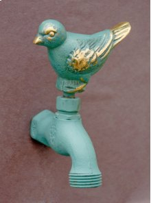 Verdi French Country Hose Bibb Faucets Brass / Sparrow